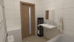 full room дизайн проект світлої ванної