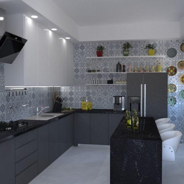 full room кухня з островом