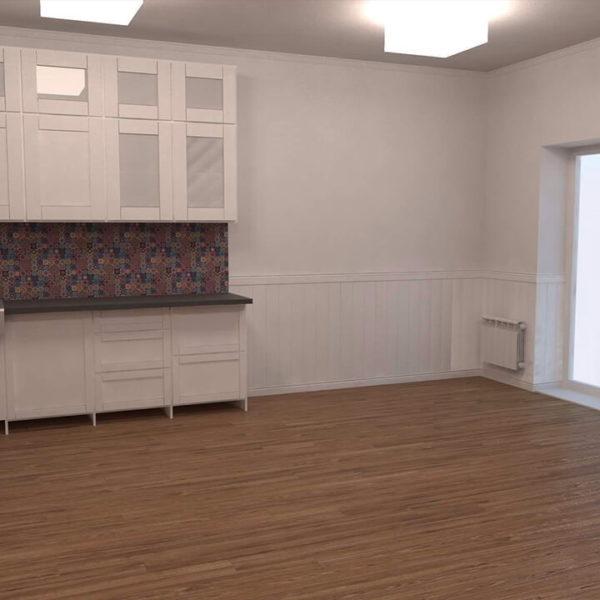 full room кухня в будинку
