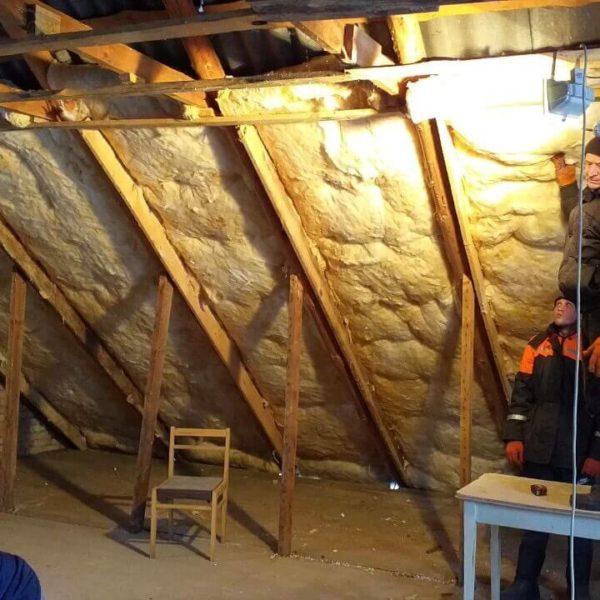 Full Room укладка мінеральної вати