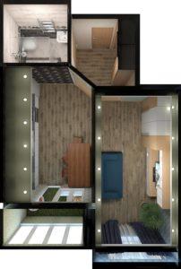 Full Room дизайн проект квартири