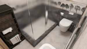 Full Room дизайн проект санвузла
