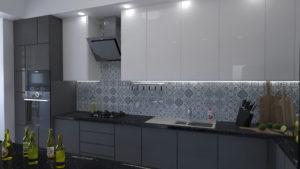 Full Room дизайн проект кухні