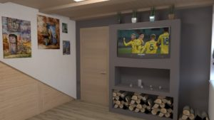 Full Room дизайн проект вітальні