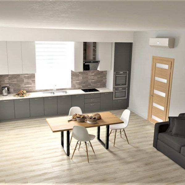 Full Room дизайн кухні-вітальні