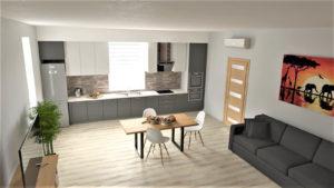 full room дизайн кухни-гостиной