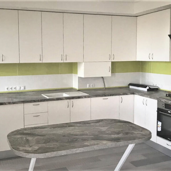 Full Room біла кухня