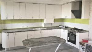 Full Room белая кухня