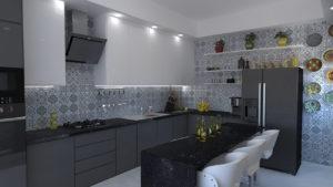 Full Room дизайн кухня
