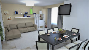 Full Room дизайн кухня-студия