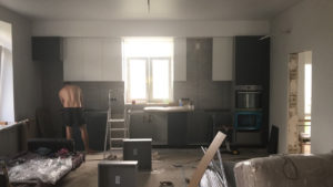 Full Room монтаж кухни