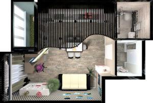 Full Room План квартиры ТОР