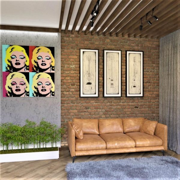 full room дизайн вітальні